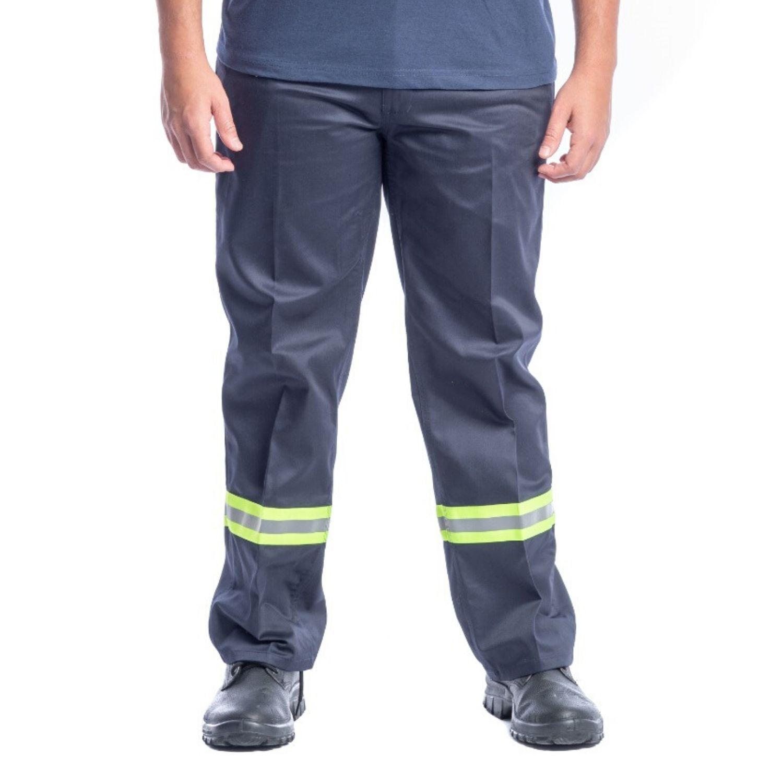 Pantalon De Trabajo C Cinta Reflectiva